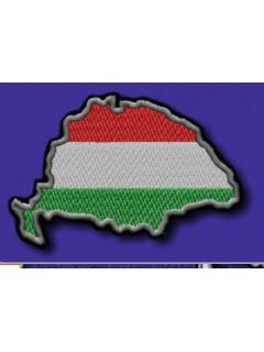 Nagy - Magyarország -Trikolor felvarró