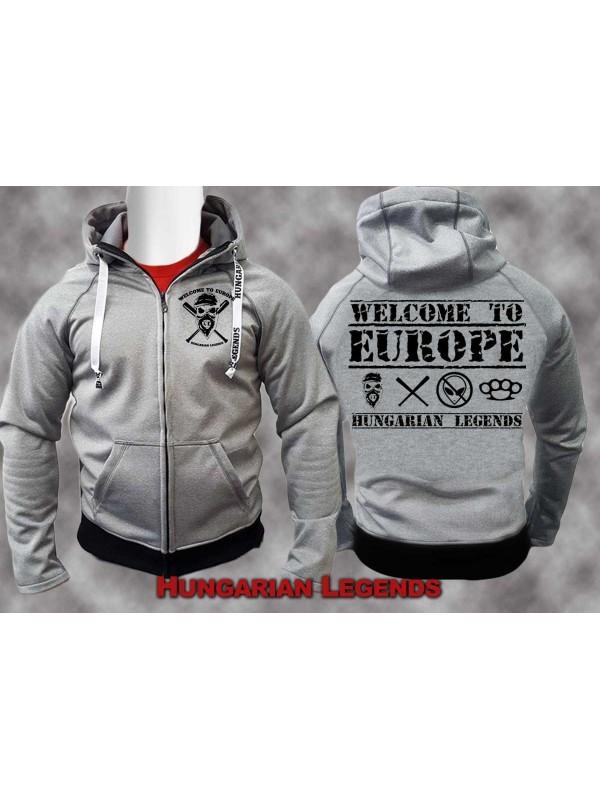 b23b218192 Welcome to Europe - softshell átmeneti kabát, unisex -4XL