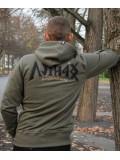 HARCOS-HNB kapucnis zipzáras pulóver - PuZ21