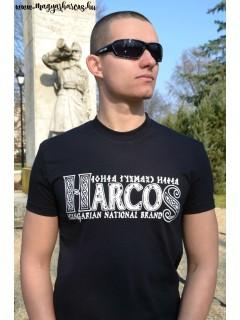 HARCOS-HNB póló - fekete