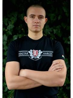 Magyar HARCOS-Pajzs póló