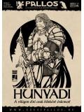 Hunyadi János póló - fehér