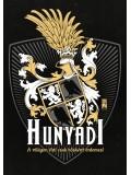 Hunyadi címeres póló - fekete
