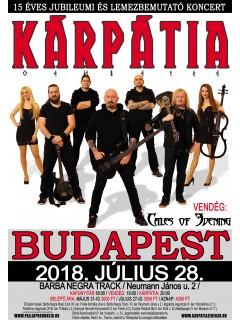 Kárpátia Koncertjegy - 2018 július 28.