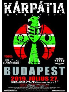 Kárpátia Koncertjegy - 2019. 07. 27. BUDAPEST