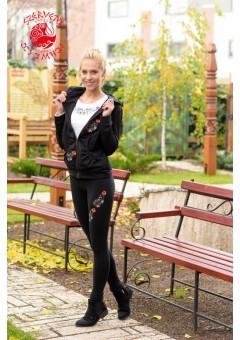 Szervető-kalocsai felül hímzett leggings