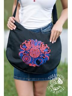 Szervető-torockói félhold táska - fekete