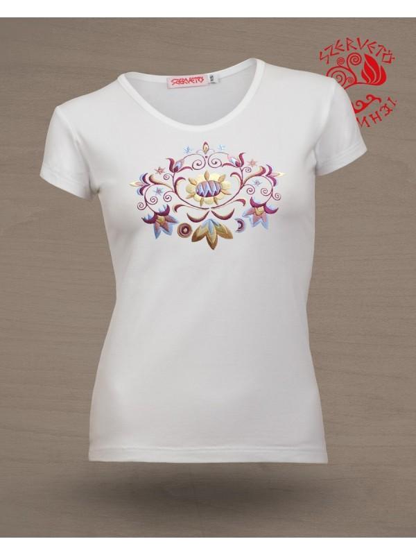 Szervető-vásárhelyi O póló - fehér 70e1b9908a