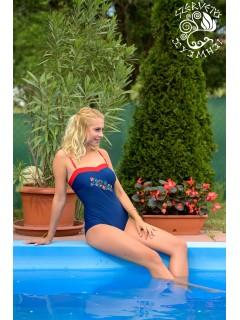 Szervető-jászsági, hímzett, kosaras bikini