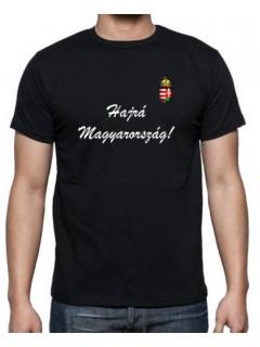 Szurkolói póló - fekete