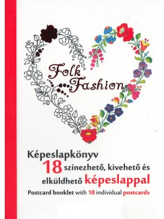 Folk Fashion - Képeslapkönyv