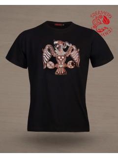 Szervető  Rakamazi Turul póló - fekete