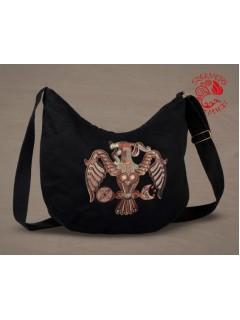 Szervető-rakamazi turul félhold táska - fekete