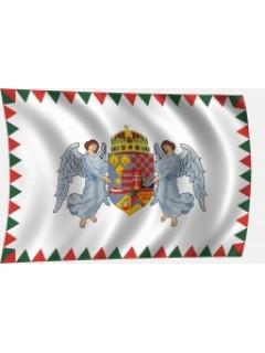 Angyalos címeres zászló
