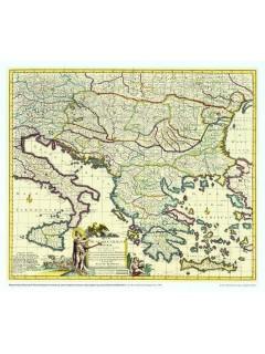 Regni Hungariae Graeciae (1690) 71X61