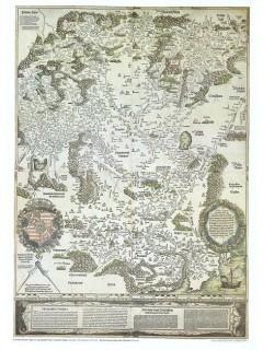 Tabula Hungariae Lazarus (1528) 66X88