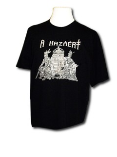 Ö.Z. - A Hazáért póló - fekete