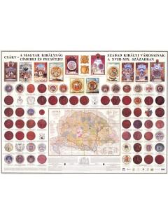 A Magyar Királyság szabad királyi városainak címerei pecsétjei