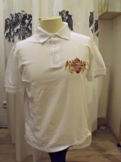 Ö.Z. - Angyalos Galléros póló - fehér