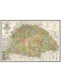 Antik Magyarország térkép wandi 63X43