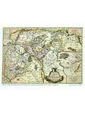 Carte de la Hongrie (1664) 64X48