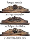 Címeres falióra