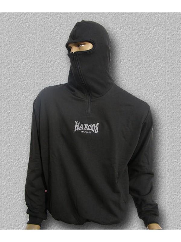 6a92070629 NINJA kapucnis belebújós pulóver
