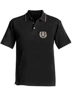 Galléros póló ezüst címerrel