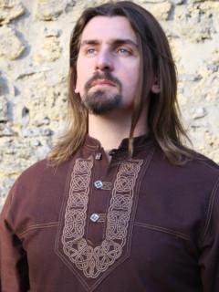 Keltacsomós férfi ing