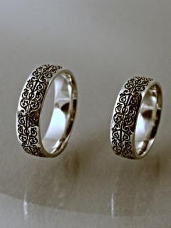 Széles domború háromszéki karikagyűrű