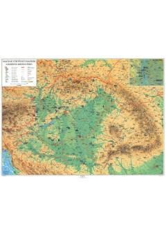 Magyar történeti emlékek a Kárpát-medencében térkép könyöklő