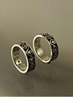 Hun indás karikagyűrű