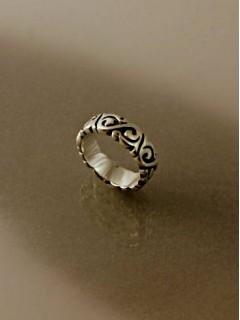 Nagy szemdíszes gyűrű