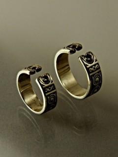 Sólyompár karikagyűrű