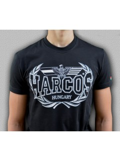 MAGYAR HARCOS-Babérkoszorúval póló (PoK36)