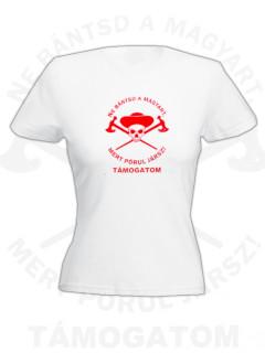 Ö.Z. - BetyárSereg női póló - fehér