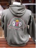 Hímzett kapucnis Angyalos pulcsi - keki