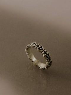 Női istenfaleveles gyűrű