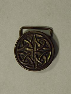 Keltakereszt övcsat - bronz