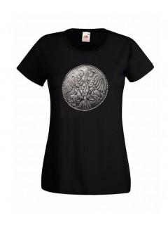 Ö.Z. - Rakamazi Turul korong női póló - fekete