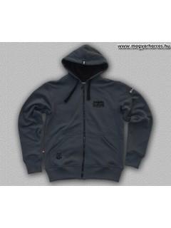 HARCOS kapucnis zipzáras pulóver - PuZ16