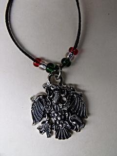 Rakamazi Turul medál - áttört ezüst színű