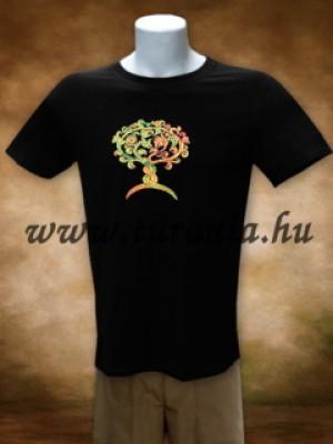 Avar életfa-kígyógriff póló