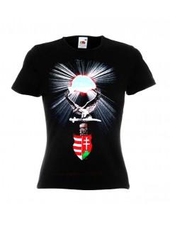 Női Címeres Turul póló
