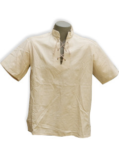 Fűzős rövid ujjú  ing