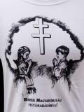 Hiszek egy Hazában póló - fehér