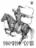 Kertai Zalán - Csaba Királyfi póló - fekete
