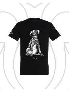 Vizsla póló - fekete