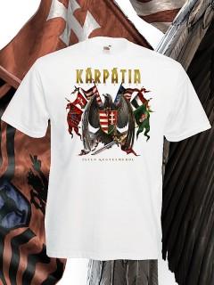 Ö.Z. - Kárpátia - ISTEN KEGYELMÉBŐL póló - fehér