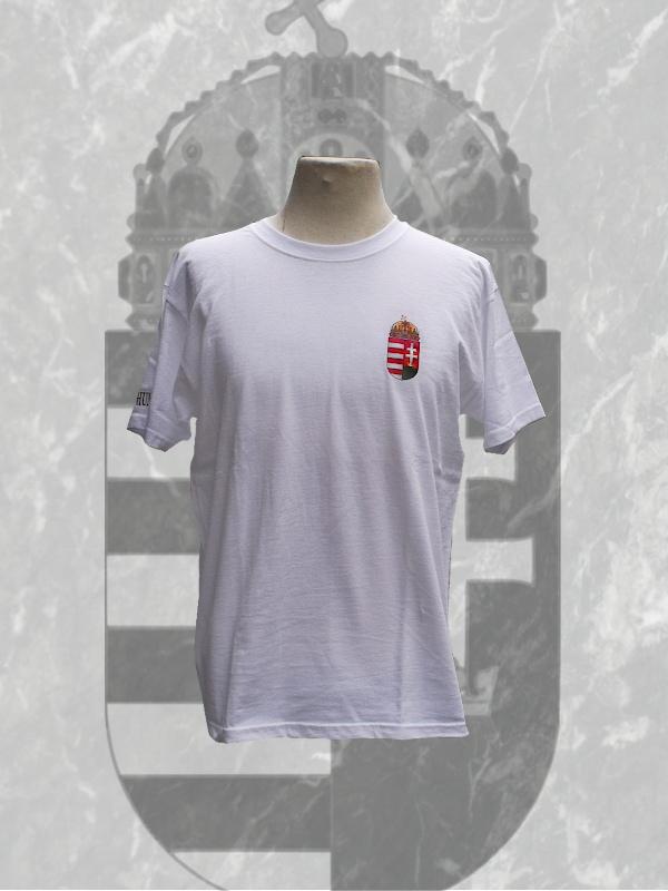 Ö.Z. - Magyar címeres póló - fehér 8427c6e4ce